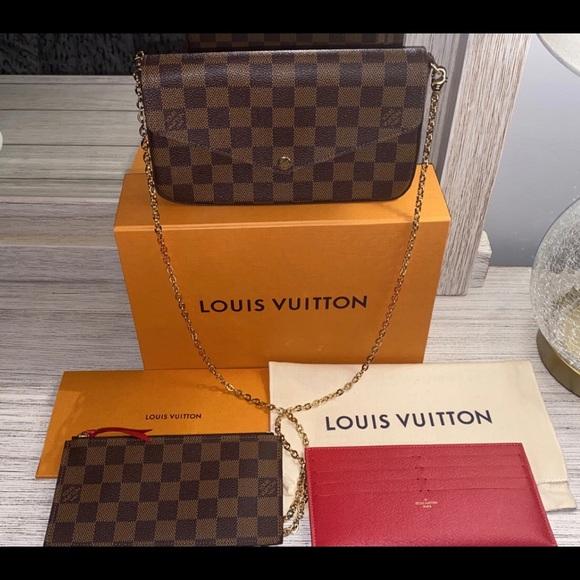 Authentic Louis Vuitton Pochette Félicie